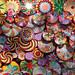 Enjoy the colour: woven circles