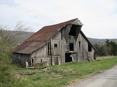 Weathered Barn (dbro1206) Tags: old abandoned barn farm weathered arkansas roadside decayed abigfave