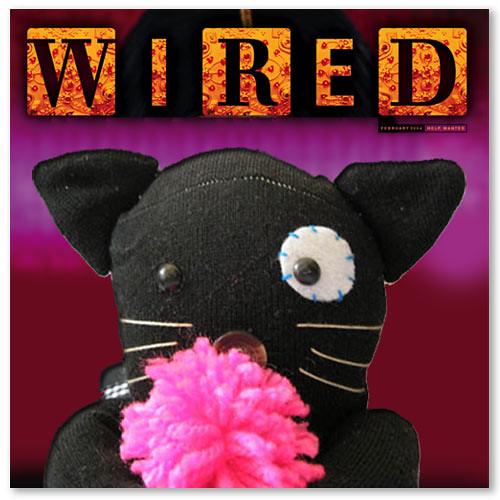 Pretinha na Wired!