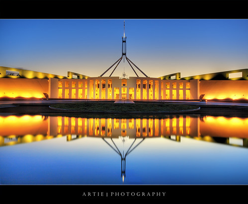 The Australian Parliament House, Canberra :: HDR