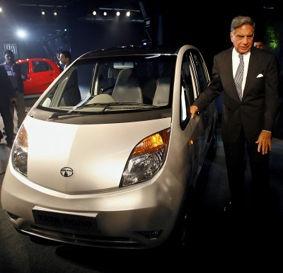 Tata Nano Inveiled At Party In Mumbai, India