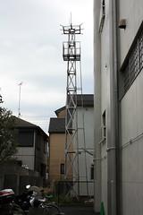 下保谷松ノ木の火の見櫓(西東京市)