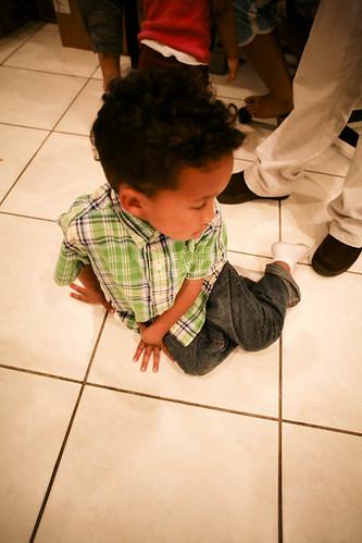 Jeremiah's Floor Work