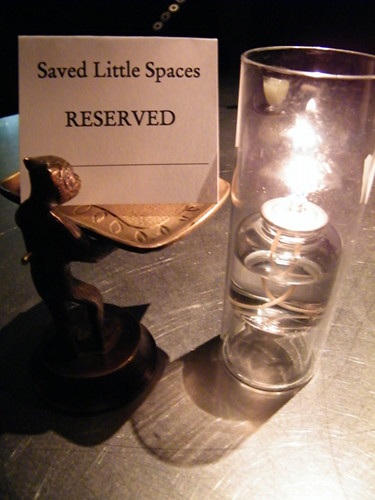 Our Reserved Table at Bar Centro, MyLastBite.com