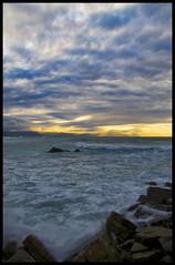 Barrika (Jose Peral Merino) Tags: mar agua olas rocas paisvasco nwn cantabrico barrika nikond300