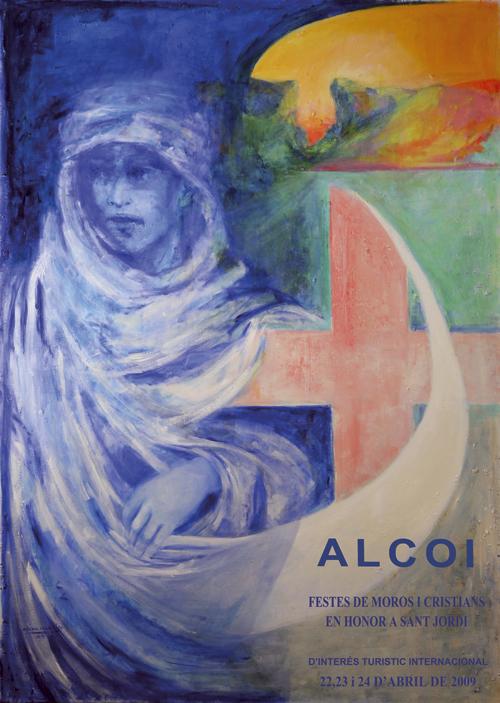 Cartel Moros y Cristianos Alcoy 2009
