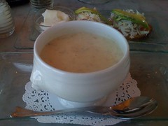 Franciscan in San Francisco cup of clam chowder $5.95