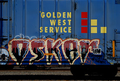 Osker on Golden West Service (All Seeing) Tags: keys graffiti haiku hcm allseeing a4y rtype drgw goldenwestservice