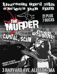 The Murder - OBriens Flyer