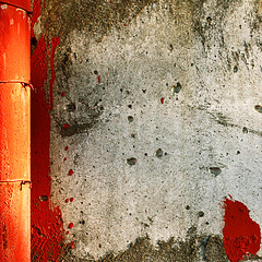 Prisoner (daliborlev) Tags: red abstract brick texture stone wall saturated paint urbandecay surface prison rough oversaturated mundanedetail imprisoned