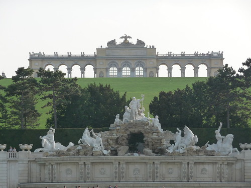 Gloriette at Schoenbrunn