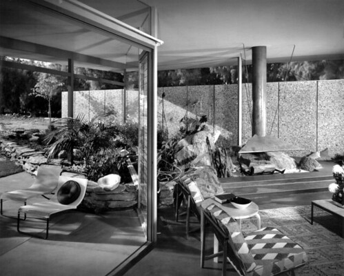 Williams House Interior/Exterior by Julius Shulman