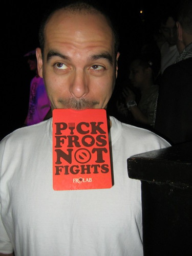 Bobbito don't fight in Amsterdam!