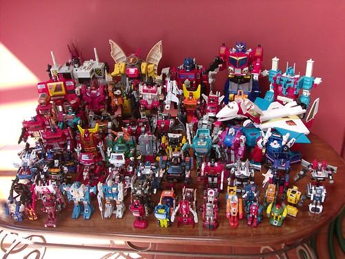 Mi Colección de Transformers (10-Abr-2009) - Autobots G1