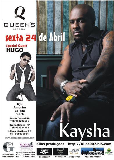 Kaysha e Hugo - Flyer
