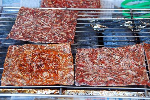 boar jerky, alishan