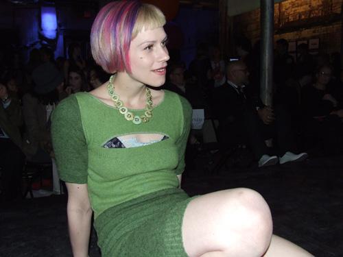 Colleen wearing Jenn Fukishima