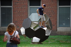 creating a photo op (Johnny Heger) Tags: college campus illinois spring universityofillinois urbana champaign uofi chipsi
