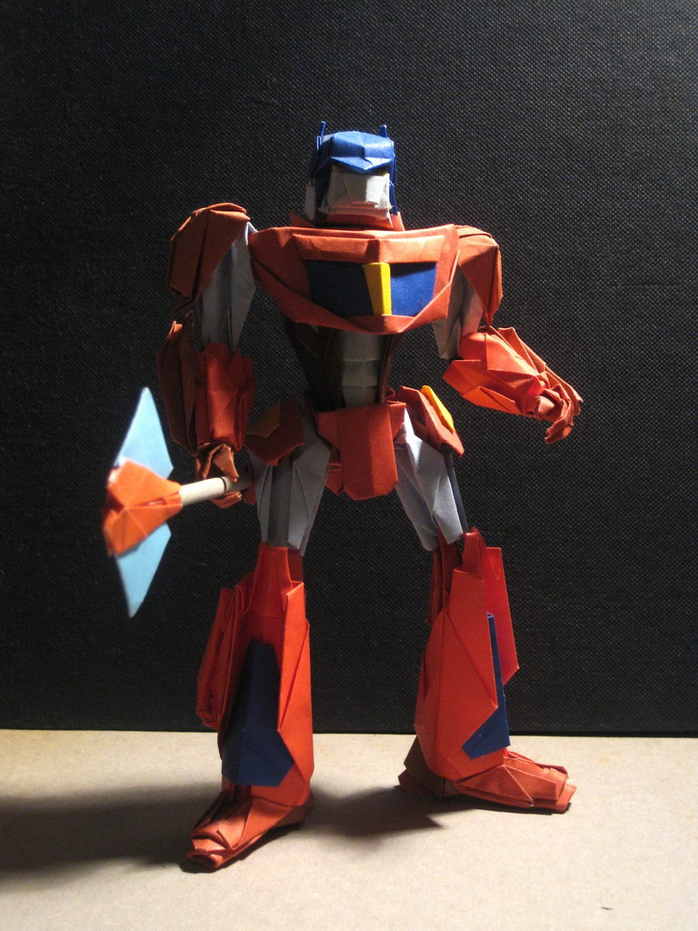 Optimus Prime by origami RXMAN
