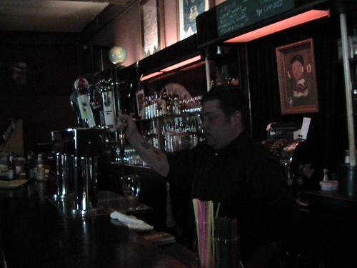 Nick, Bartender Extraordinaire @ the Skylark, Chicago