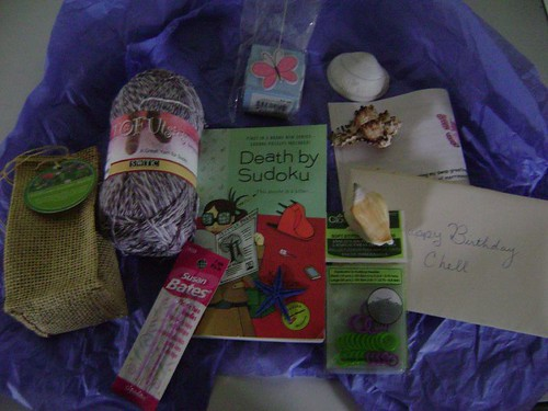 APRIL BIRTHDAY SWAP LOOT!