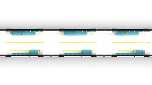 Lao Jinahua - Tube train-5 (concept design)