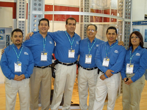 At Expo Seguridad with LRG Int'l