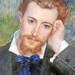 Hyacinthe-Eugene Meunier, by Auguste Renoir