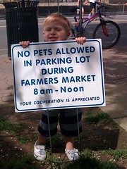 no pets at market