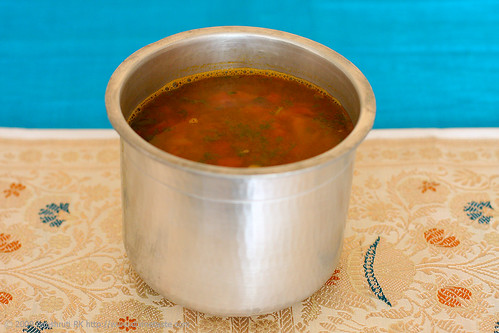 Tangy, Hot & Fiery South Indian Soup/Rasam