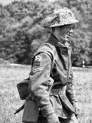 _DTM2317bw (D.T.Morris) Tags: soldier army bash war display military wwii bunker ww2 guns british 2009 armedforces worldwar2 militaria germans secretnuclearbunker kelvedenhatch