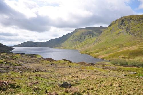 Loch Turret, Carn Chois and Creag nan Uan