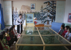 Learning life of Kim Jong Il Chongsan-ri Farm school - North Korea (Eric Lafforgue) Tags: pictures school photo war asia picture korea kimjongil asie coree ecole northkorea dprk coreadelnorte kimilsung nordkorea 2602    coredunord coreadelnord  northcorea coreedunord  insidenorthkorea  rpdc  coriadonorte  kimjongun coreiadonorte