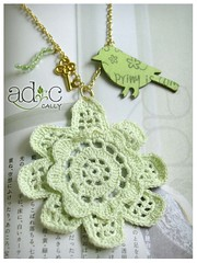 (adc_album) Tags: green bird necklace key worm