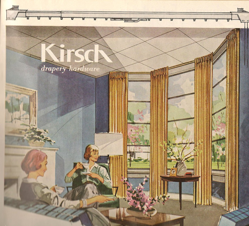 Kirsch Drapery Hardware BHG April 1961