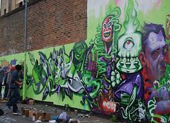 Meeting of Styles London 2009 (Selph       ESP Crew) Tags: uk london graffiti meeting styles nash spraycan wany nychos meetingofstyles