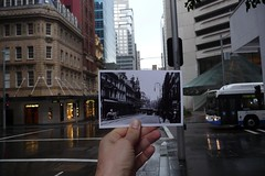 Looking into the past: King Street, Sydney: c.1900/2009
