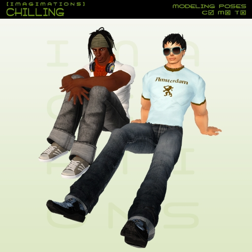 Imagimations - Guys Set - Chilling (Modeling Poses)