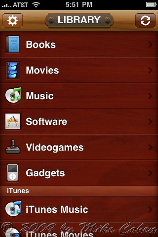 Delicious Library on iPhone