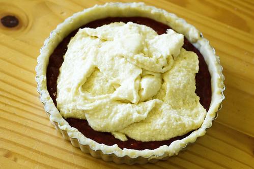 bakewell tart - frangipane