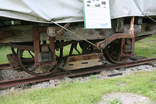 Sledge brake on Fayles wagon