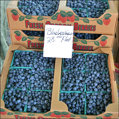 Blueberries by La Grande Farmers' Market