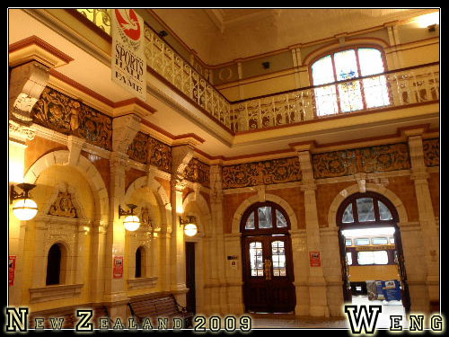 Dunedin, Train Station(Inside)