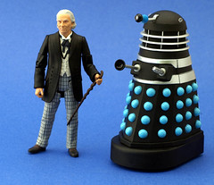 1st Doctor and Dalek