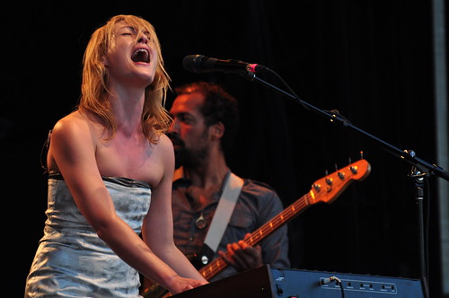 Metric at Ottawa Bluesfest 2009