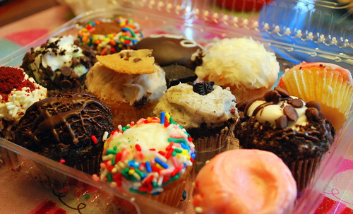 Interior Crumbs Cupcakes