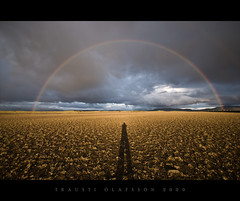 Shadow and rainbow (Trausti Ólafsson) Tags: nature iceland rainbow tqm paragon outstandingshots nikond80 imageplus absolutelystunningscapes colorsofthesoul traustiólafsson imagesforthelittleprince musicsbest photographymypassion magicunicornverybest magicunicornmasterpiece trolledproud pinnaclephotography