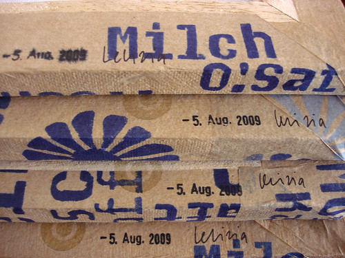 Milch O'Saft Bier Prosecco Wein etc