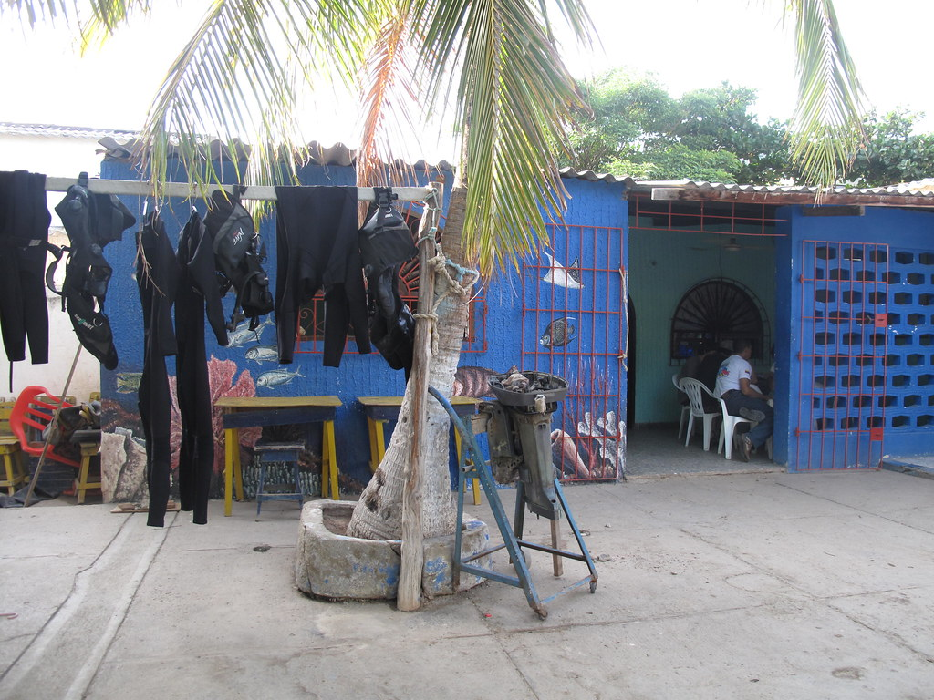 Dive School-Equipment Area