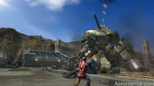 juego Iron Man 2 tanque gigante